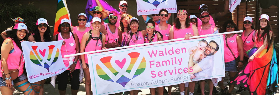 Walden Family Services Recognized for Innovation in  Inclusion of LGBTQ Youth by HRC Foundation