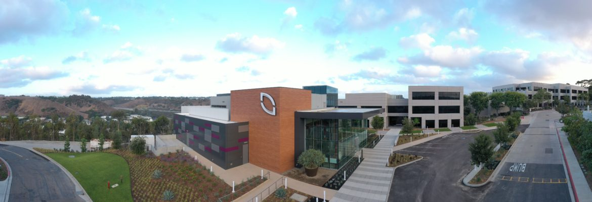 Pacific Building Group Completes NuVasive Amenities Building